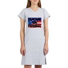 For President Personalize It! Women's Nightshirt