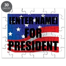 For President Personalize It! Puzzle