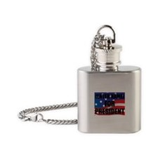For President Personalize It! Flask Necklace