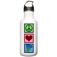 Peace Love Skydiving Water Bottle