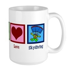 Peace Love Skydiving Mug