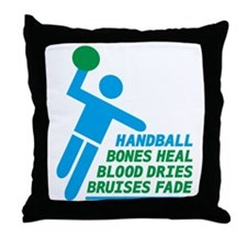 handball Throw Pillow