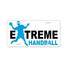 handball Aluminum License Plate