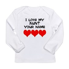 I Love My Aunt Long Sleeve T-Shirt