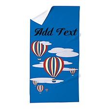 Hot Air Balloons Sky Beach Towel