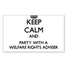 Keep Calm and Party With a Welfare Rights Adviser