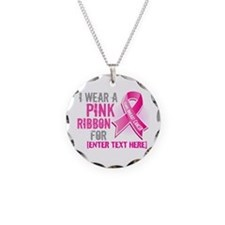 Personalized Breast Cancer Custom Necklace