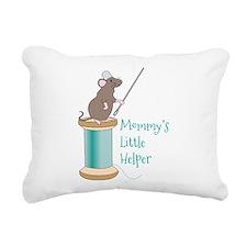 Mommys Little Helper Rectangular Canvas Pillow