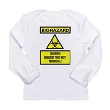 Biohazard: Generates Toxic Waste Periodically Long