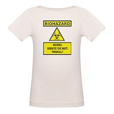 Biohazard: Generates Toxic Waste Periodically T-Sh