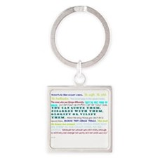 people who change things Square Keychain