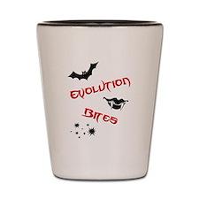 Evolution Bites Shot Glass