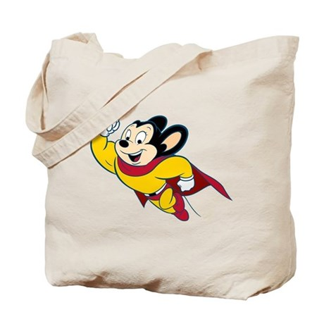 Mighty Mouse Tote Bag
