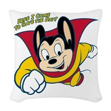 Officially licensed vintage Mi Woven Throw Pillow