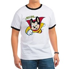 Officially licensed vintage Mighty Mouse, T