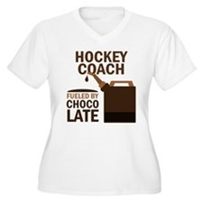 Hockey Coach Chocolate T-Shirt