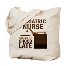 Geriatric Nurse Chocolate Tote Bag