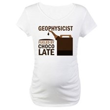 Geophysicist Fueled By Chocolate Shirt