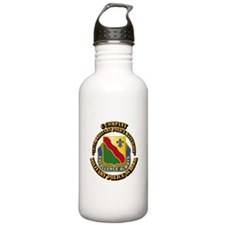 DUI - C Company - 787th MPB w Text Water Bottle