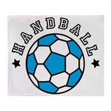handball Throw Blanket