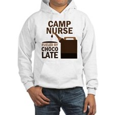 Camp Nurse Chocolate Hoodie