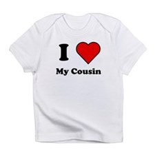 I Heart My Cousin Infant T-Shirt
