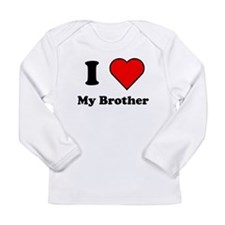 I Heart My Brother Long Sleeve T-Shirt