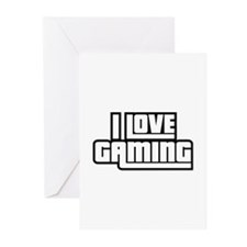 I Love Gaming Greeting Cards (Pk of 20)