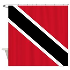 Trinidad and Tobago Flag Shower Curtain