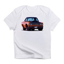 BabyAmericanMuscleCar_69_RoadR_Orange Infant T-Shi