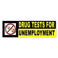 DRUG TESTS Bumper Bumper Sticker