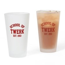 School Of Twerk Drinking Glass