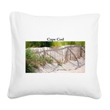 dune fence Square Canvas Pillow