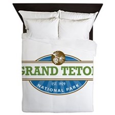 Grand Teton National Park Queen Duvet