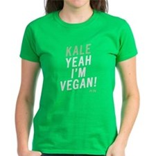 Ladies Kale Yeah I'm Vegan T-Shirt