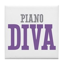 Piano DIVA Tile Coaster