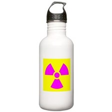 Radiation Warning Water Bottle