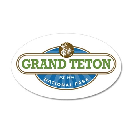 Grand Teton National Park Wall Decal