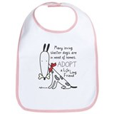 Life Long Friend (Dog) Bib