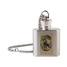 Ghost of Christmas Present Flask Necklace
