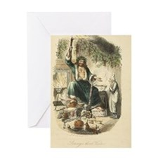 Ghost of Christmas Present Greeting Card
