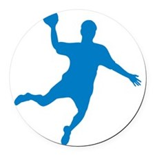 handball Round Car Magnet