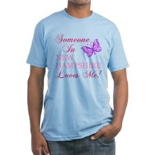 New Hampshire State (Butterfly) Shirt