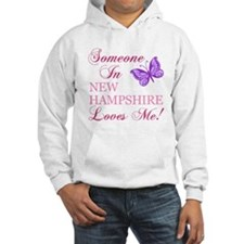 New Hampshire State (Butterfly) Hoodie