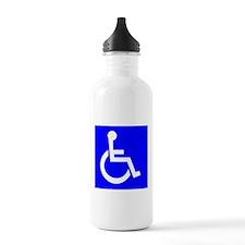 Handicap Sign Water Bottle