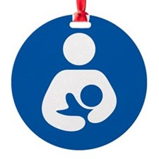 Breastfeeding Symbol Ornament
