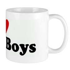 I Love Black Boys Mug