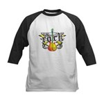 Rock! Guitar Kids Baseball Jersey