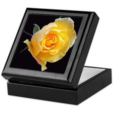 Cute Rose photography Keepsake Box