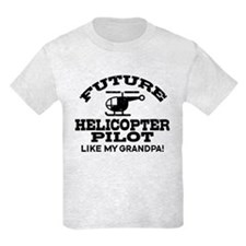 Future Helicopter Pilot Like My Grandpa T-Shirt